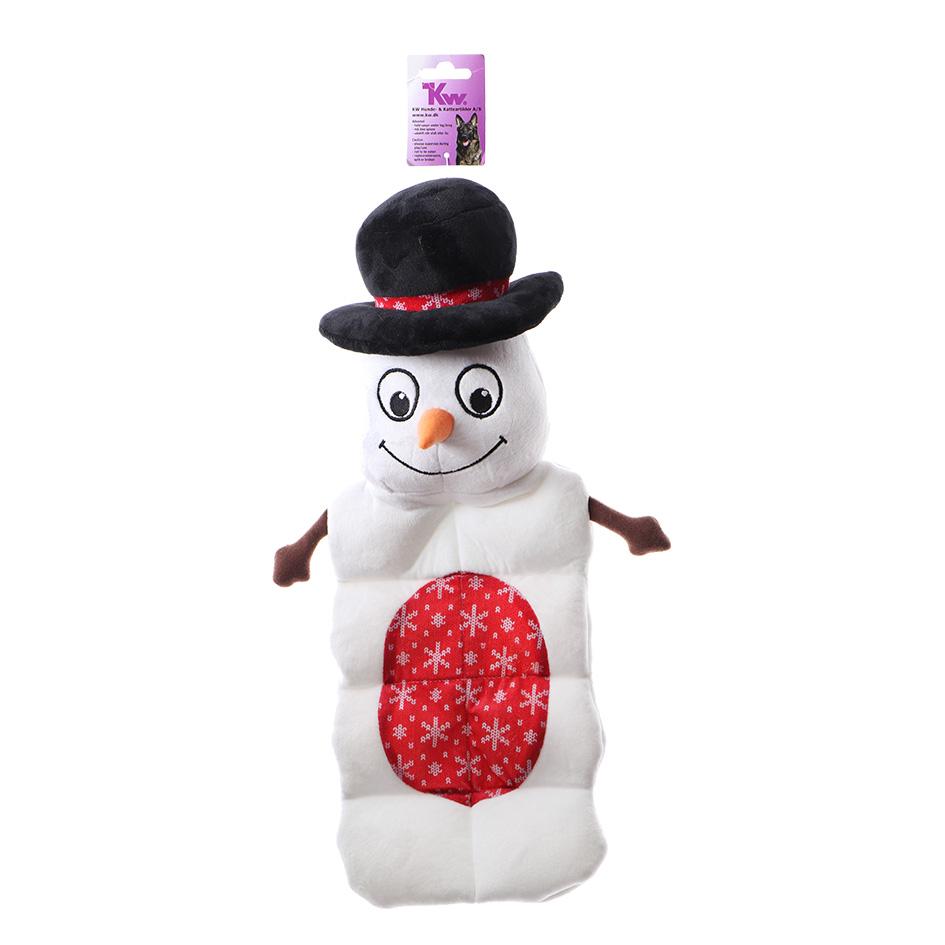 Снеговик с 8 пищалками